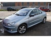 Peugeot 206 1.6 ( a/c ) 2003MY Coupe Cabriolet S in very good condition