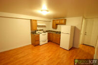 Beautiful Basement Apartment for rent HEATS and LIGHTS included