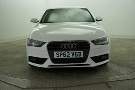 2012 Audi A4 TDI SE TECHNIK Diesel white Manual