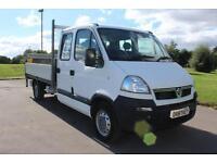 Vauxhall Movano 2.5CDTI D/C Tail-Lift Dropside Body Diesel Truck £7,895 +VAT