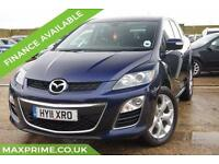 2011 MAZDA CX-7 2.2TD SPORT TECH FULL MAIN DEALER HISTORY FULL LEATHER + NAV