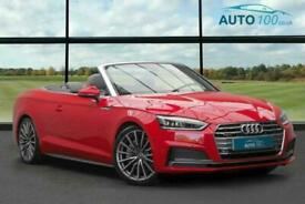 image for 2017 Audi A5 Cabriolet 2.0 TFSI S line Cabriolet S Tronic quattro (s/s) 2dr