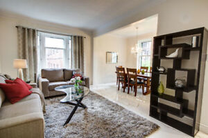 Furnished Luxury and spacious duplex in Westmount