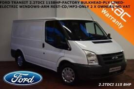 2011 Ford Transit T260 SWB LR 2.2TDCi Duratorq 115BHP-NO VAT-NO VAT-NO VAT-
