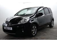 2011 Nissan Note N-TEC Petrol black Manual