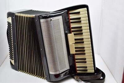 Scandalli Black Accordian 191/40  Made in Italy