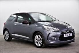 2012 Citroen DS3 E-HDI DSTYLE Diesel grey Manual
