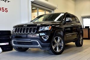 2016 Jeep Grand Cherokee LIMITED 4X4 MAGS 20 PO TOIT OUVRANT GPS