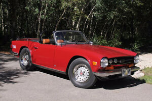 Triumph TR6 convertible immaculate