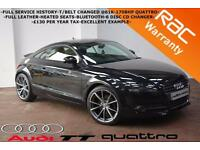2009 Audi TT Coupe 2.0TDI 170BHP QUATTRO -FULL SERVICE HISTORY-HEATED LEATHER-