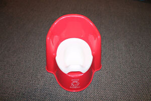 BabyBjorn red potty almost new