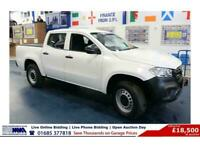 2018 - 18 - MERCEDES X CLASS 250 2.3 PURE D 190PS 4MATIC DOUBLE CAB PICK UP