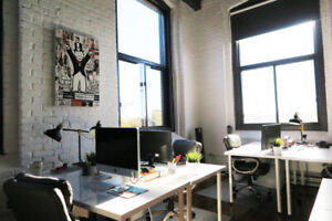 ★INCREDIBLE★ Commercial Coworking Loft Office Rental Montreal