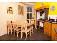 Short Term Let - Spacious, bright two bedroom property next to the Meadows in Marchmont (394)