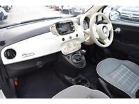 2018 Fiat 500 1.2 Lounge (s/s) 3dr Petrol Manual
