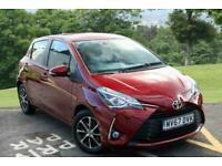 2017 Toyota Yaris 1.5 VVT-i Icon Tech 5dr CVT Hatchback Petrol Automatic