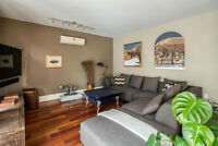 Condo 2 chambres, Pointe St-Charles, loué tout meublé