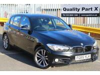 2015 BMW 1 Series 2.0 118d Sport Sports Hatch Auto 5dr (start/stop)