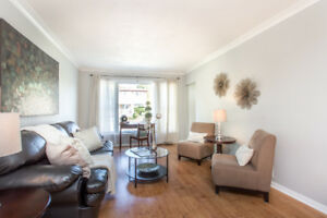 RENT STUNNING 02 BED APARTMENT ON MAIN FLOOR! 20 MIN TO DOWNTOWN