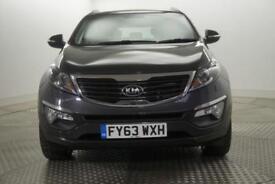 2013 Kia Sportage CRDI 3 SAT NAV Diesel silver Manual