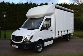 Mercedes Benz Sprinter Cutain-sider lwb 313 cdi 130 bhp