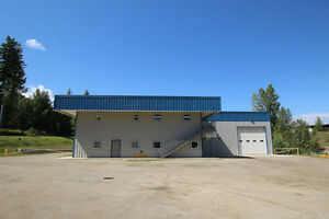 Salmon Arm - Lease 13,600sqft Industrial Building on 1 Acre Lot