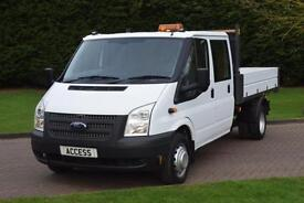 Ford Transit Alloy Tipper D/cab 2.2 tdci 6 speed