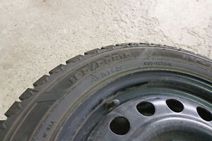 GOODYEAR NORDIC 195/55R15 tires on rim. Excellent condition! Kitchener / Waterloo Kitchener Area image 3