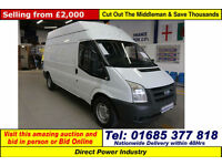 2007 - 07 - FORD TRANSIT T350 2.4TDCI 115PS RWD LWB HIGH-TOP VAN (GUIDE PRICE)