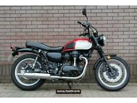 KAWASAKI W800 BKF STREET 2019 69 - BLACK - NATIONWIDE DELIVERY - VIDEO AVAILABLE