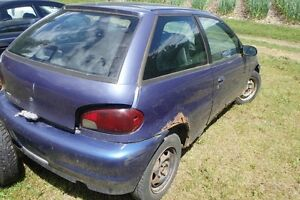 Geo Metro Hatchback Parts Car