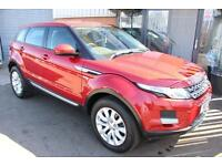 Land Rover Range Rover Evoque SD4 PURE-1 OWNER-BLUETOOTH & HEATED BLACK LEAT
