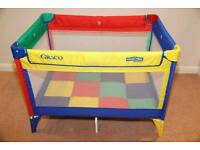 Graco Travel Cot Playpen with mattress