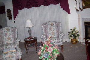 Beautiful Queen Anne Style Chairs For Sale.