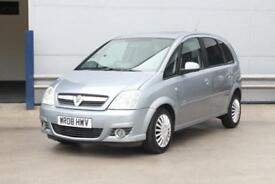 2008 Vauxhall Meriva 1.7 CDTi 16v Design 5dr (a/c)