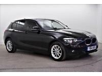 2014 BMW 1 Series 118D SE Diesel black Manual