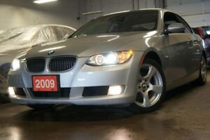 2009 BMW 328i RARE HARD TOP CONVERTIBLE!! LEATHER ONLY 99KM'S!!!
