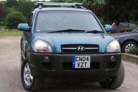 2004 Hyundai Tucson 2.7 V6 CDX 5dr