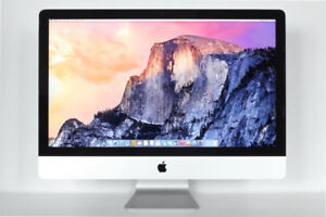 """iMac 27"""" with wireless keyboard and trackpad"""