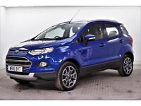 2016 Ford EcoSport TITANIUM TDCI Diesel blue Manual