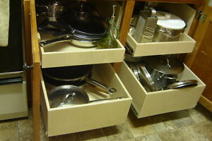 MAKE YOUR CUPBOARDS MORE USER FRIENDLY--WITH ROLLING SHELVES Kawartha Lakes Peterborough Area image 6