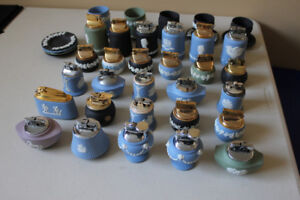 Collection of Vintage Wedgwood cigarette lighters