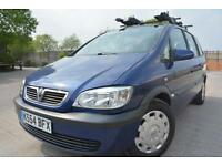 VAUXHALL ZAFIRA DESIGN 1.8 16V 5 DOOR 7 SEATER MPV*FULL MOT*ONE LADY OWNER*