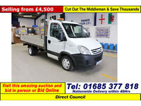 2008 - 08 - IVECO DAILY 35C12 2.3HPI SINGLE CAB DROPSIDE (GUIDE PRICE)