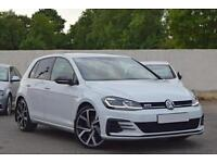 VW VOLKSWAGEN GOLF GTD 2.0 TDI DIESEL MANUAL 5DR HATCH [MK 7.5] 2017 [17] WHITE