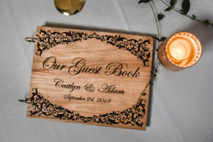 Personalized Wedding Guestbooks