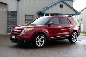 2013 Ford Explorer Limited AWD 7 seater, LOADED with everything