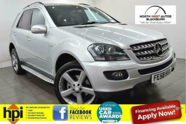 2008 Mercedes Benz M Class 3 0 Ml320 Cdi Edition 10 7g Tronic 5dr In Blackburn Lancashire Gumtree