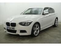 2014 BMW 1 Series 118D M SPORT Diesel white Manual