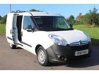Vauxhall Combo 1.6CDTi 16v L2H1 Combo twin side doors 14 reg £6895 + VAT